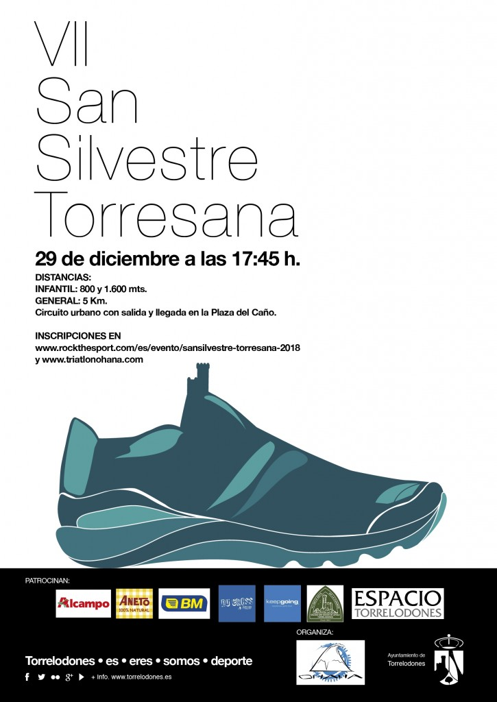 VII SAN SILVESTRE TORRESANA - Madrid - 2018