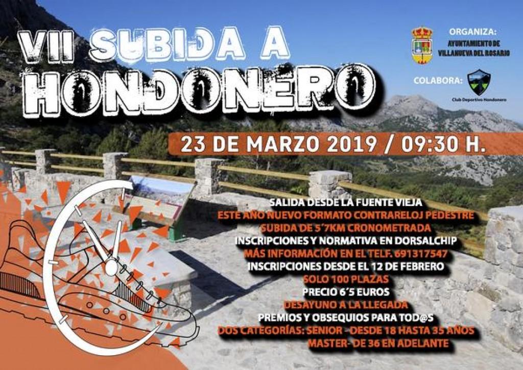 VII Subida a Hondonero - Málaga - 2019