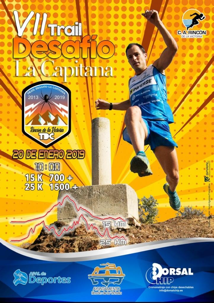 VII TRAIL LA CAPITANA - Malaga - 2019