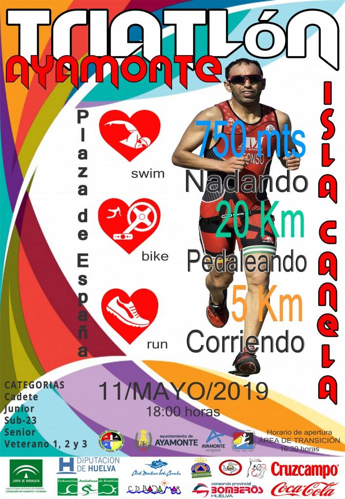 VII TRIATLÓN ISLA CANELA - Huelva - 2019