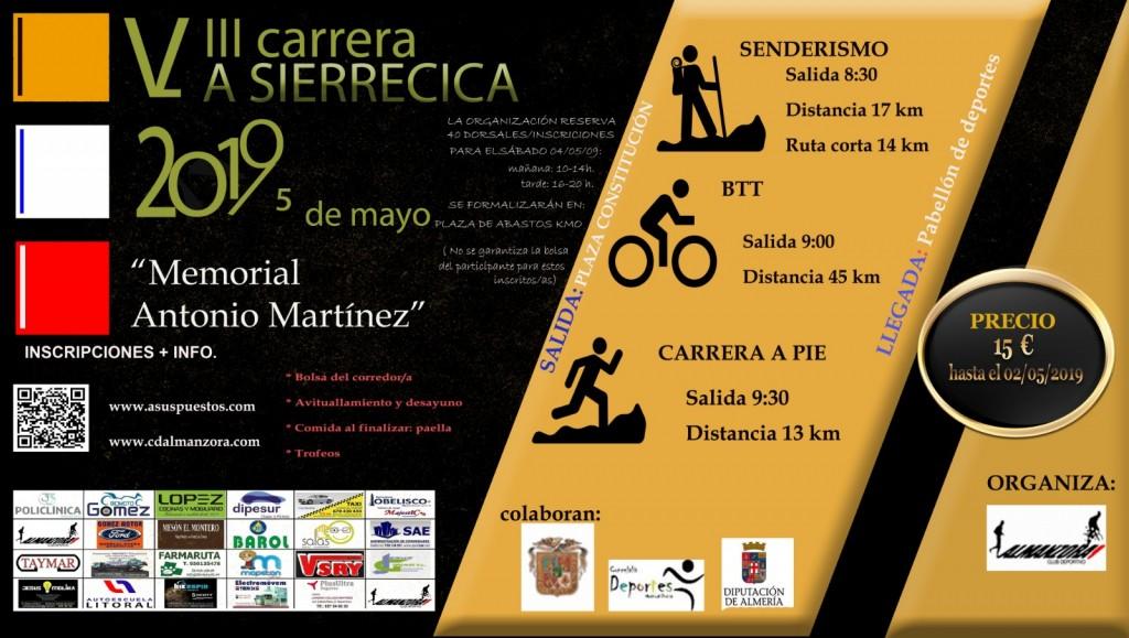 VIII CARRERA DE LA SIERRECICA - Almería - 2019