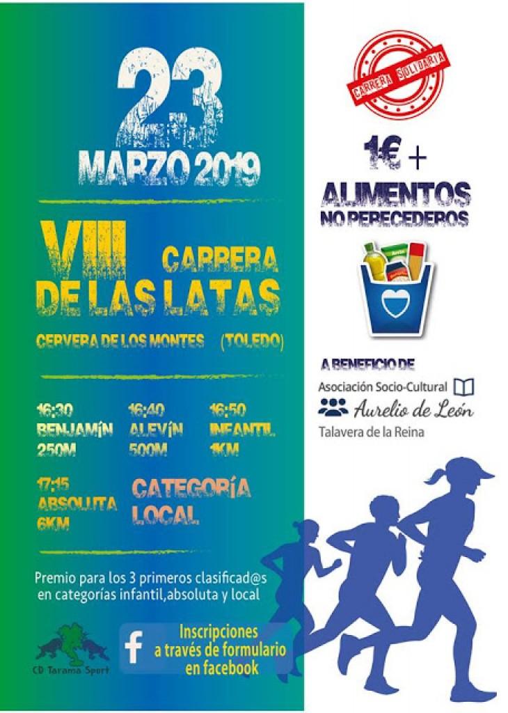 VIII Carrera de las Latas - Toledo - 2019
