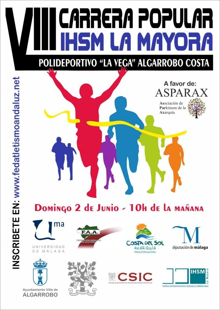 VIII Carrera IHSM La Mayora UMA CSIC - Malaga - 2019