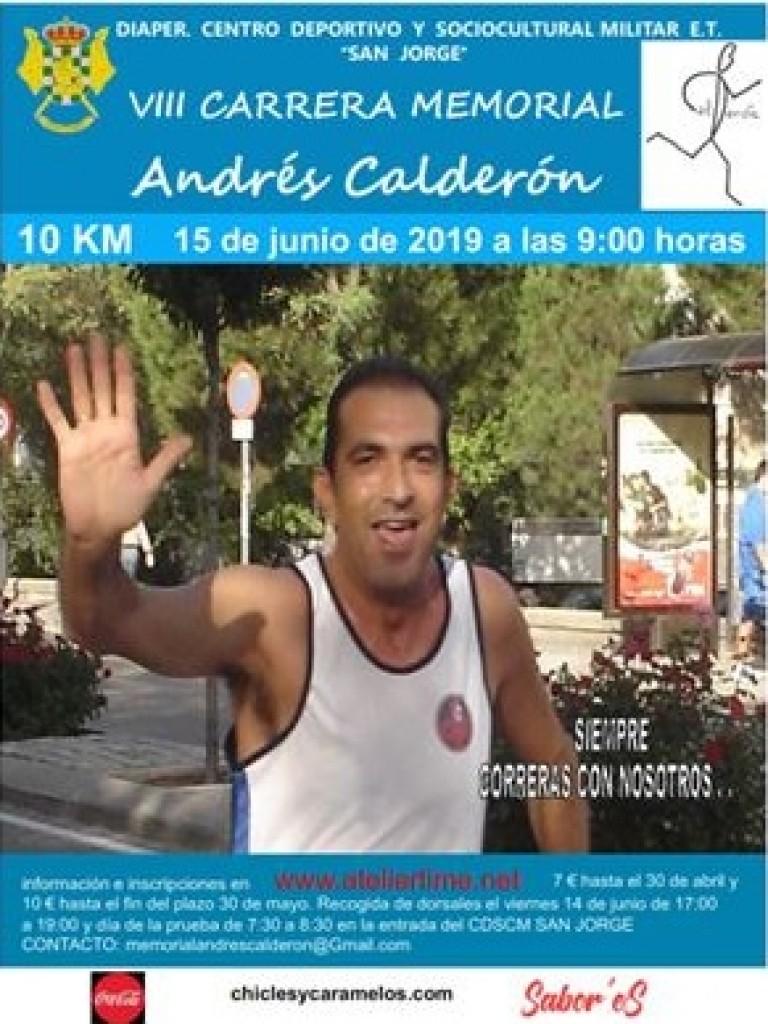 VIII CARRERA MEMORIAL ANDRES CALDERON - Madrid - 2019