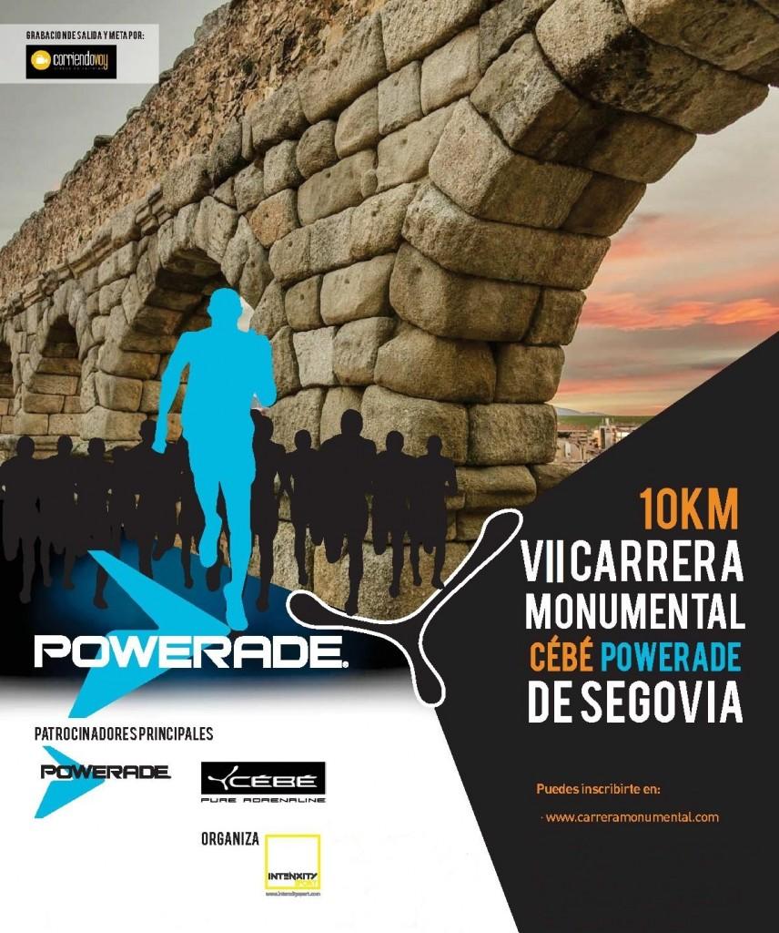 VIII Carrera Monumental Cébé - Powerade Ciudad de Segovia - 2019