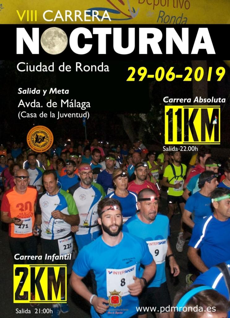 VIII Carrera Nocturna de Ronda - Málaga - 2019