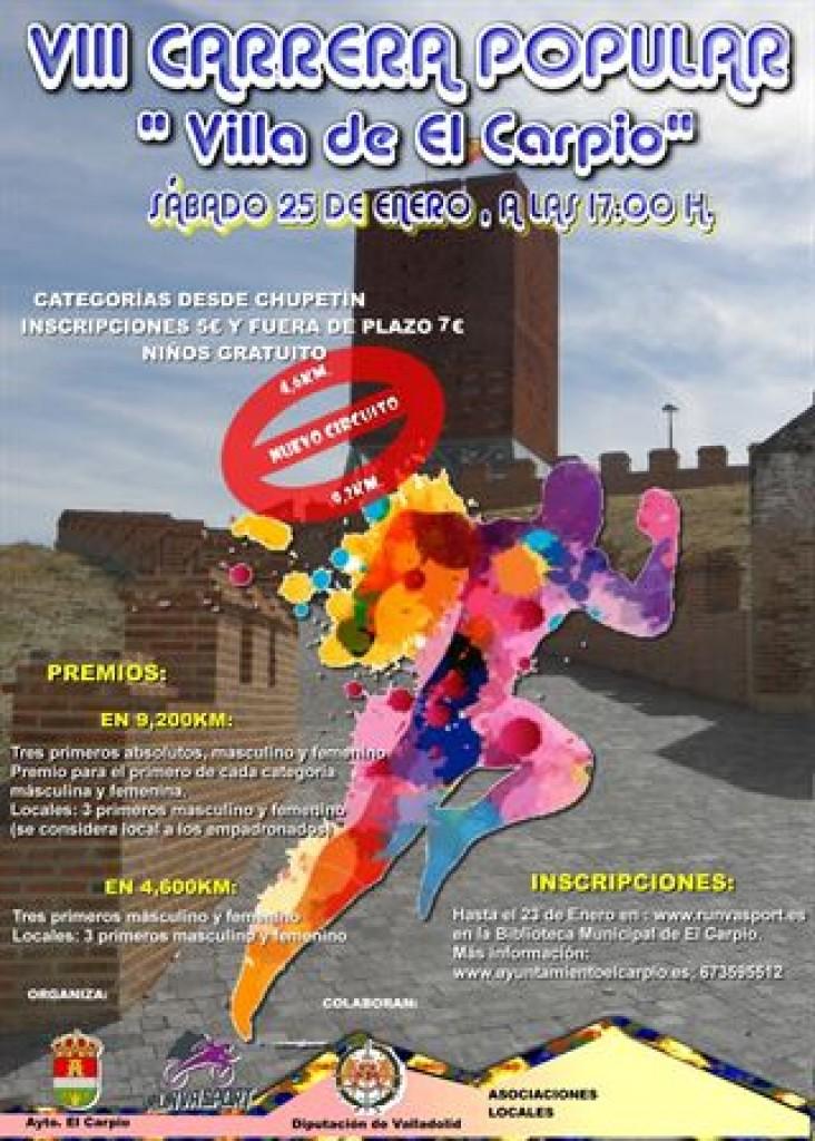 VIII Carrera Popular EL CARPIO - Valladolid - 2020