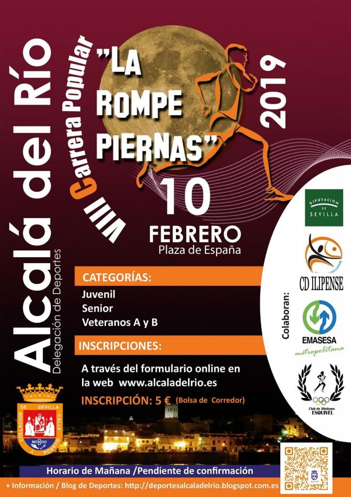 VIII Carrera Popular La Rompepiernas - Sevilla - 2019