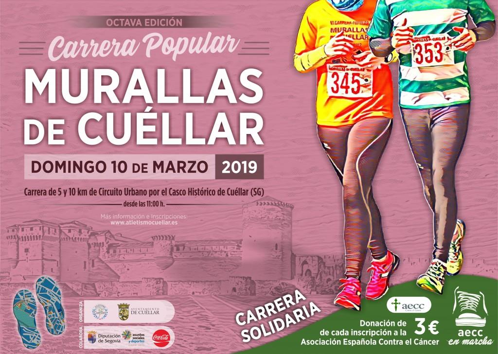 VIII Carrera Popular Murallas de Cuéllar - Segovia - 2019