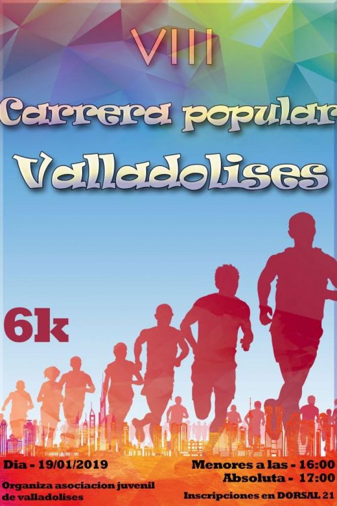 VIII CARRERA POPULAR VALLADOLISES - Murcia - 2019