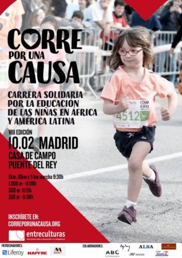 VIII Carrera Solidaria Entreculturas Corre por una Causa 10k - Madrid - 2019