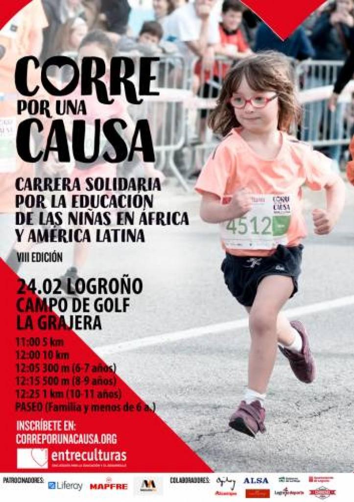 VIII Carrera Solidaria Entreculturas Corre por una Causa - La Rioja - 2019
