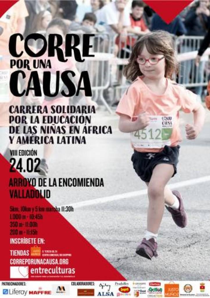 VIII Carrera Solidaria Entreculturas Corre por una Causa - Valladolid - 2019