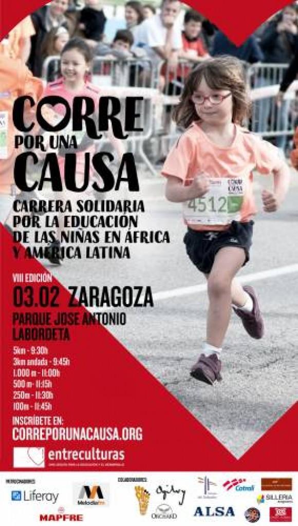 VIII Carrera Solidaria Entreculturas Corre por una Causa - Zaragoza - 2019