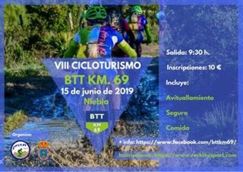 VIII CICLOTURISMO BTT KM 69 - Huelva - 2019