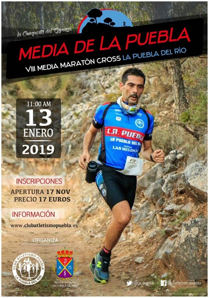 VIII MEDIA MARATON CROSS LA PUEBLA DEL RIO - Sevilla - 2019