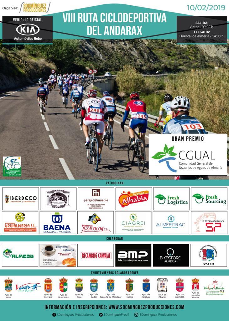 VIII RUTA CICLODEPORTIVA DEL ANDARAX - Almería - 2019
