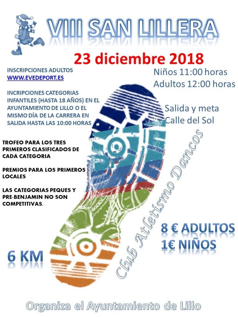 VIII SAN LILLERA - Toledo - 2018