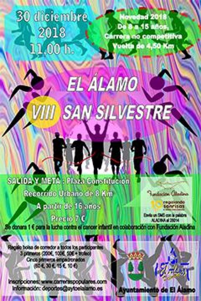 VIII SAN SILVESTRE ALAMEÑA - Madrid - 2018