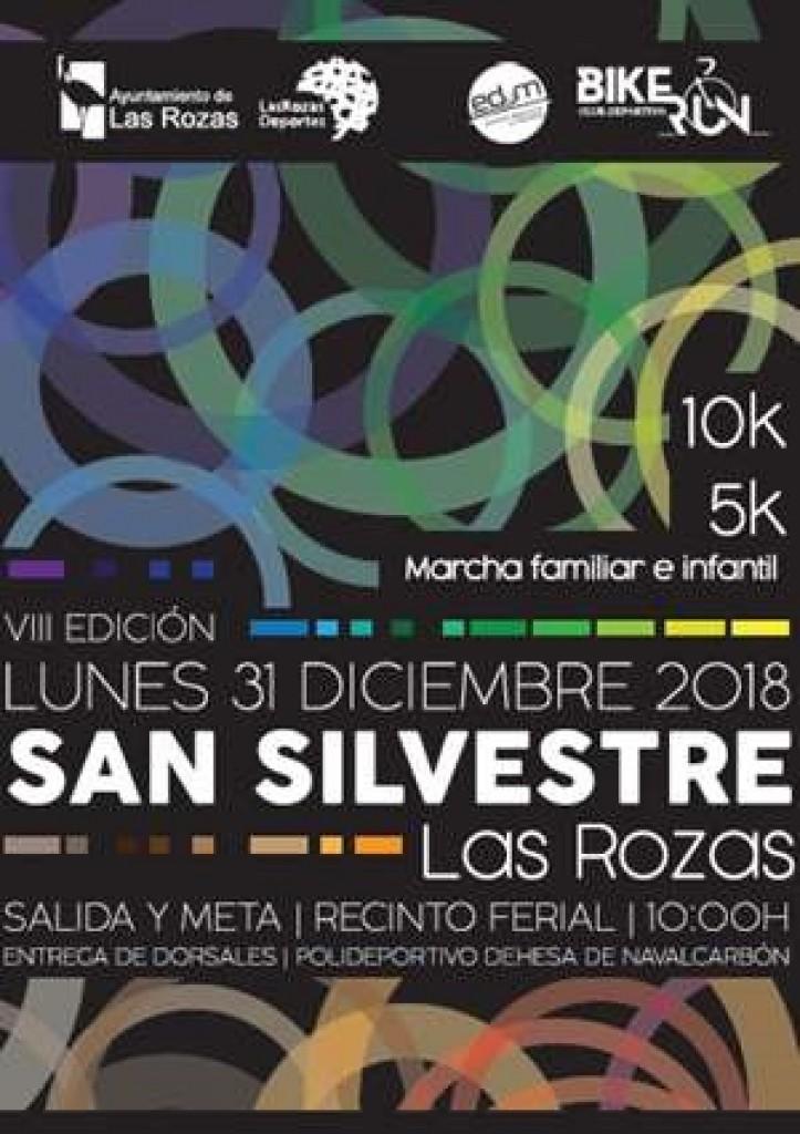 VIII SAN SILVESTRE DE LAS ROZAS - Madrid - 2018