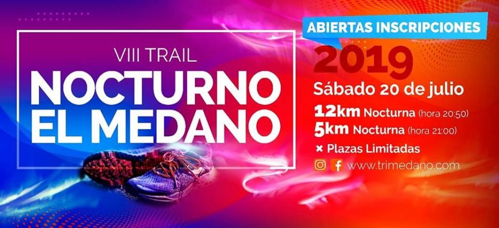VIII Trail Nocturno El Médano - Santa Cruz de Tenerife - 2019