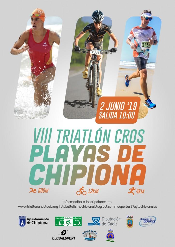 VIII TRIATLÓN CROS PLAYAS DE CHIPIONA - Cádiz - 2019