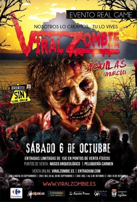 VIRAL ZOMBIE AGUILAS 2018