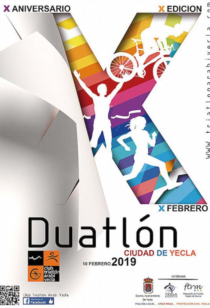 X DUATLON DE YECLA - Murcia - 2019