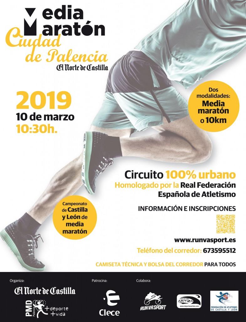 X Media Maratón El Norte de Castilla Ciudad de Palencia - 2019