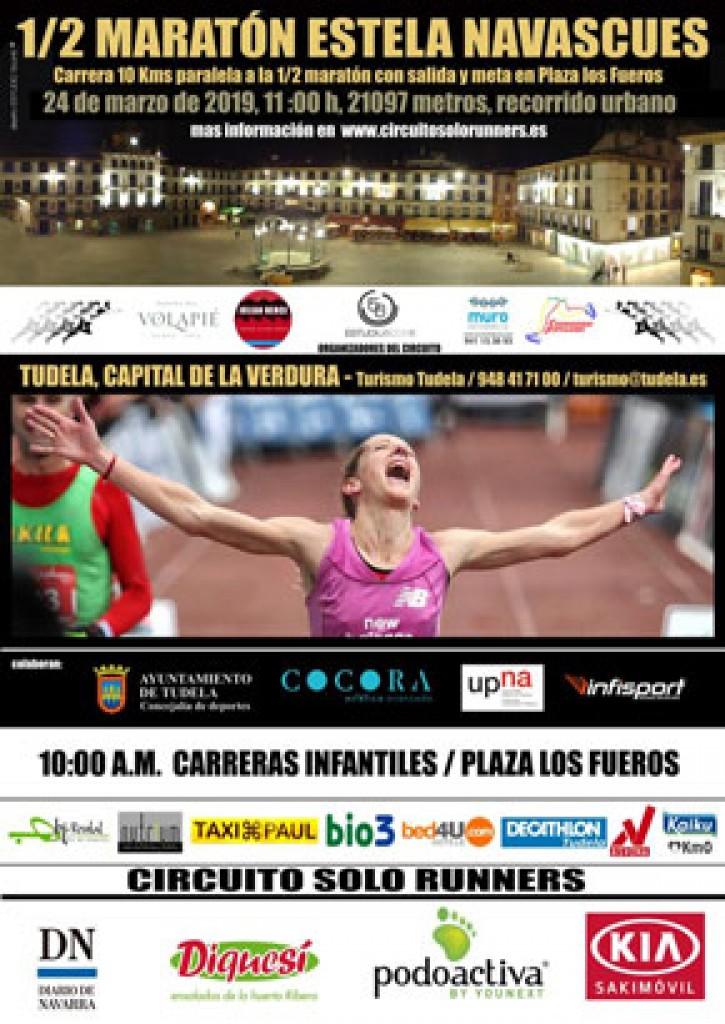 X Media Maratón Estela Navascués - Navarra - 2019