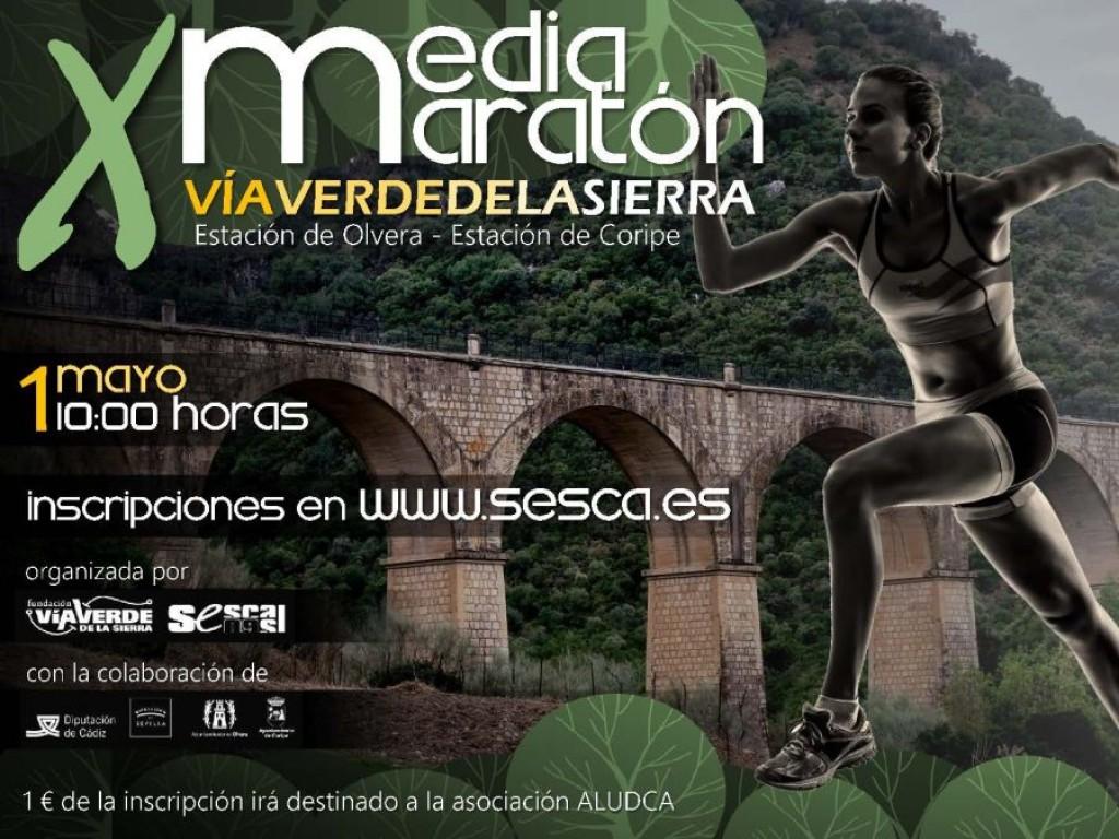 X Media Maratón Vía Verde de la Sierra - Cádiz - 2019