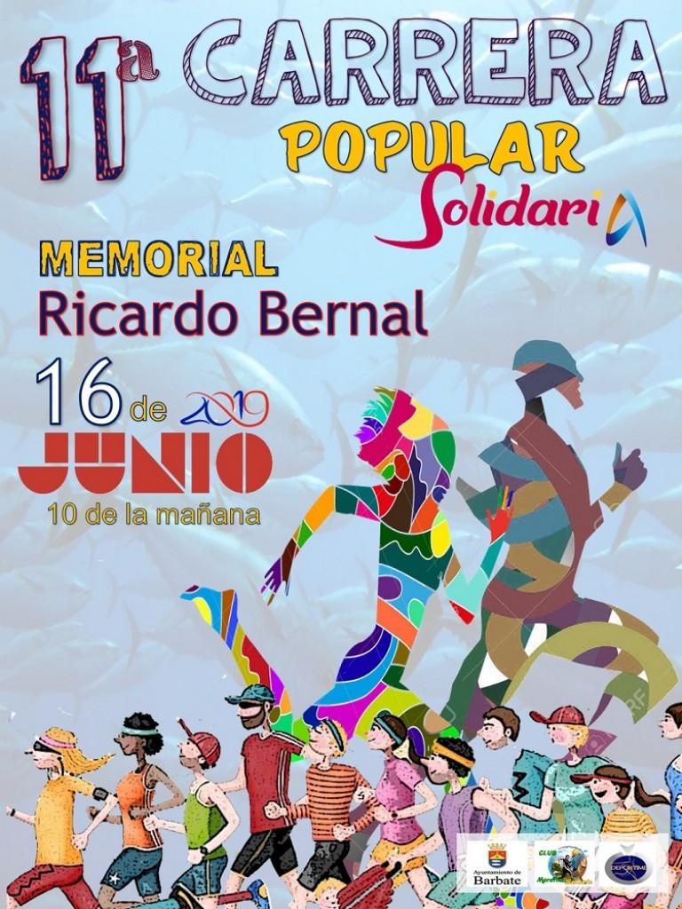 XI Carrera Solidaria Villa de Barbate Memorial Ricardo Bernal - Cádiz - 2019