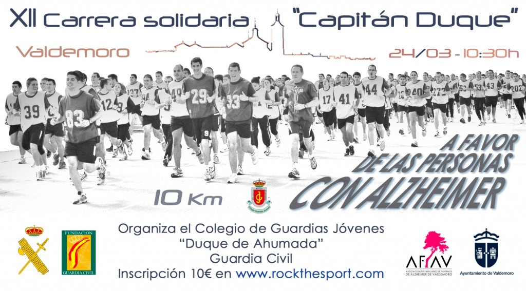 XII CARRERA SOLIDARIA CAPITÁN DUQUE - Madrid - 2019