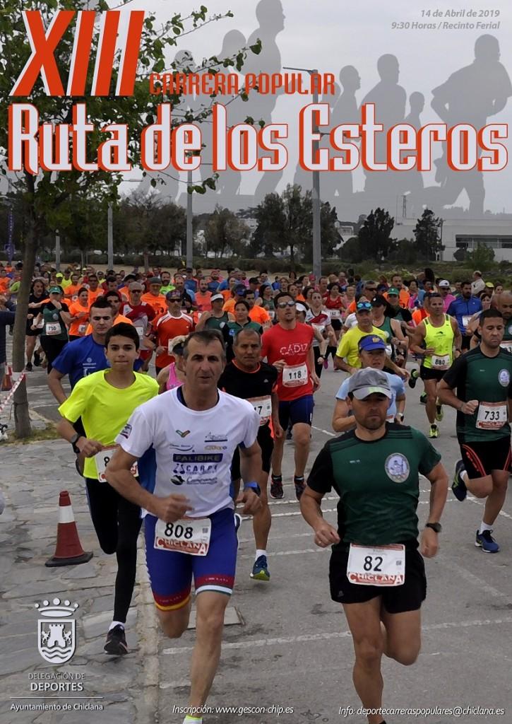 XIII Carrera Popular Ruta de los Esteros - Cadiz - 2019
