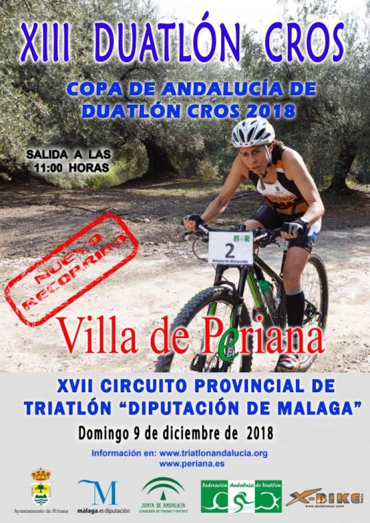 XIII DUATLON CROS VILLA DE PERIANA - Malaga - 2018