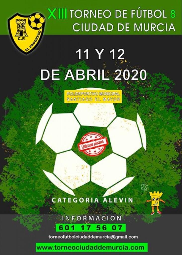 XIII TORNEO DE FUTBOL 8 CIUDAD DE MURCIA - 2020
