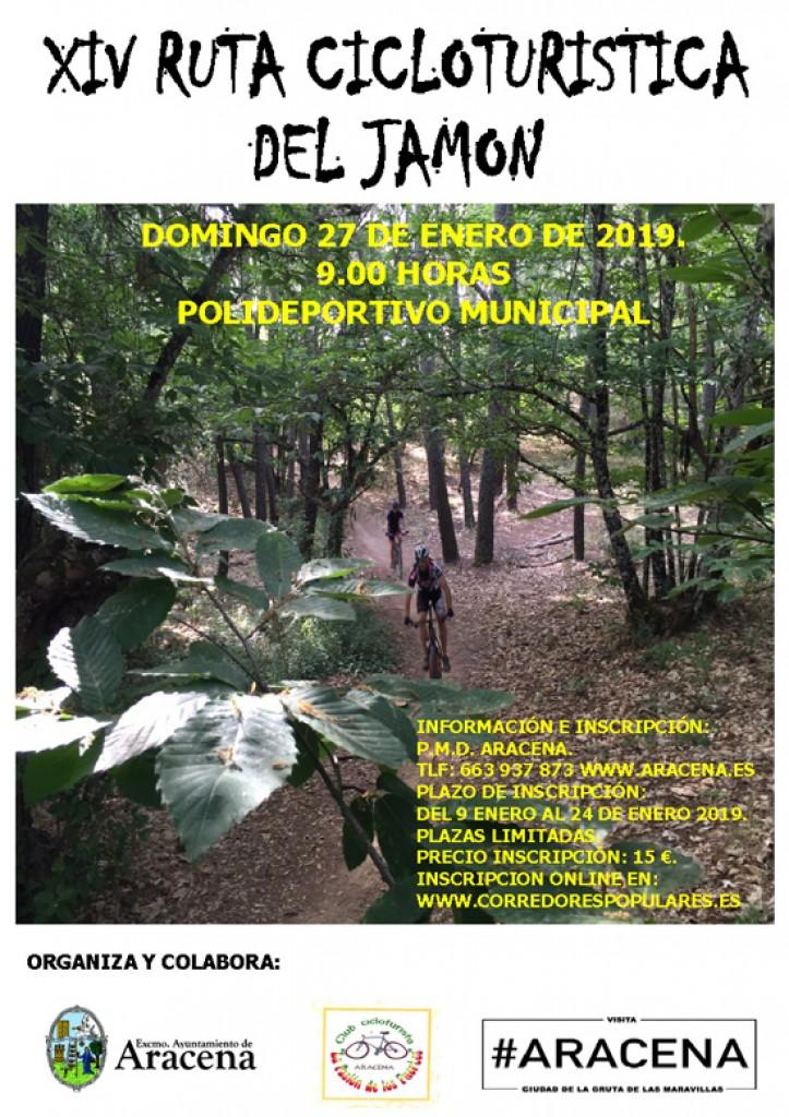 XIV Ruta Cicloturista del Jamón - Huelva - 2019