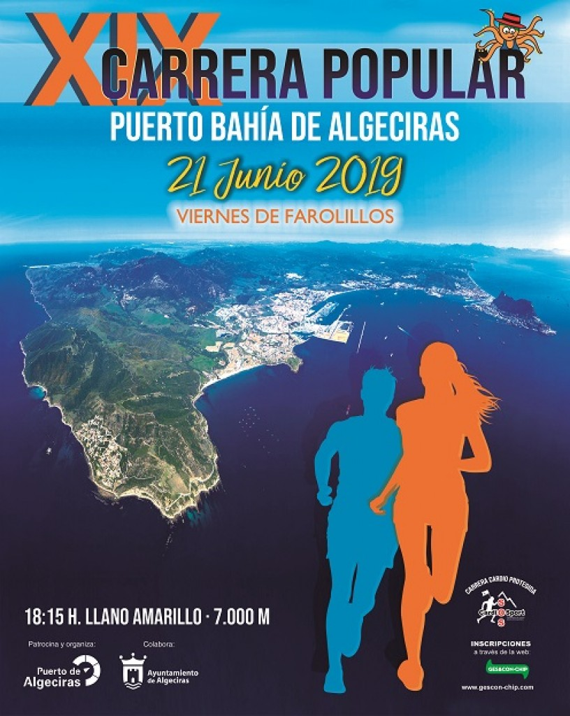 XIX Carrera Popular Puerto Bahía de Algeciras - Cádiz - 2019