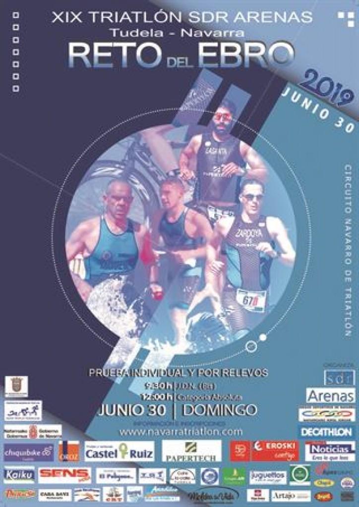 XIX Triatlón JDN Reto del Ebro - Navarra - 2019