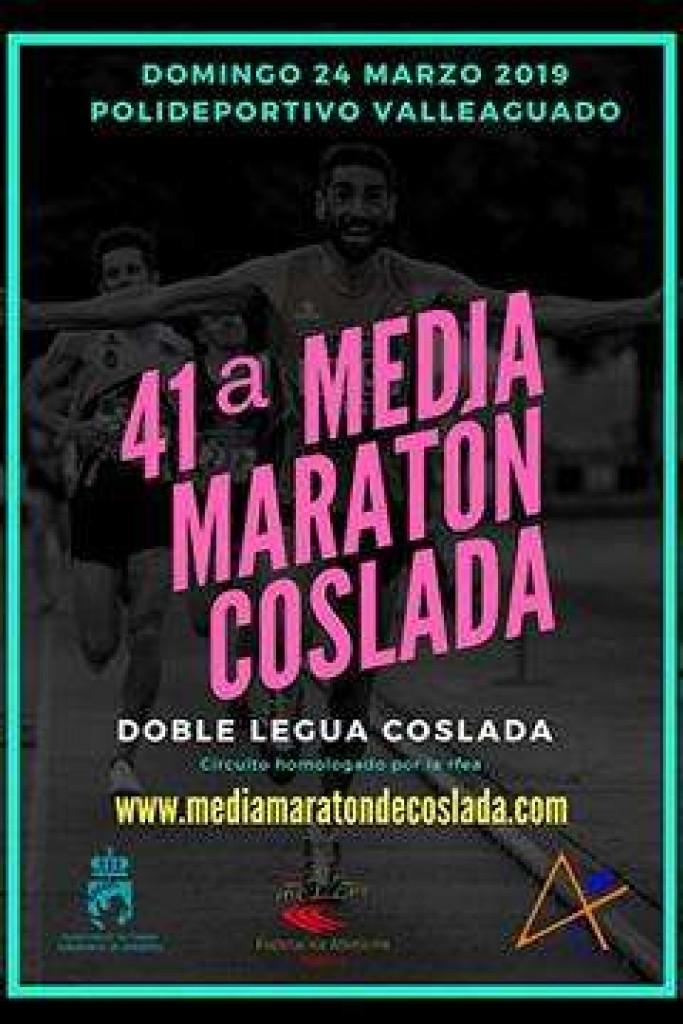 XLI Media Maratón Popular de Coslada - Madrid - 2019