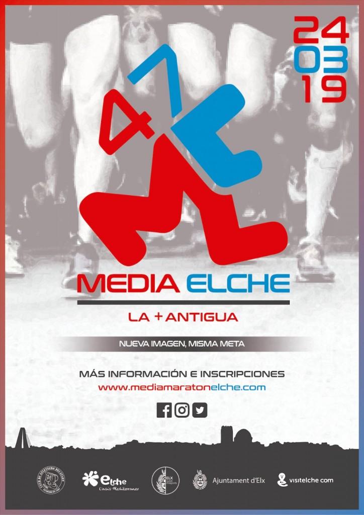 XLVII Media Maratón Internacional Ciudad de Elche Oasis Mediterráneo - Alicante - 2019