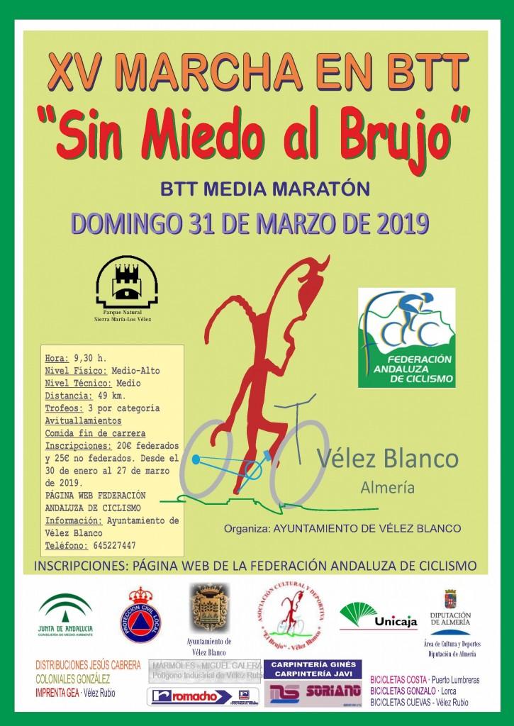 XV BTT SIN MIEDO AL BRUJO - Almería - 2019