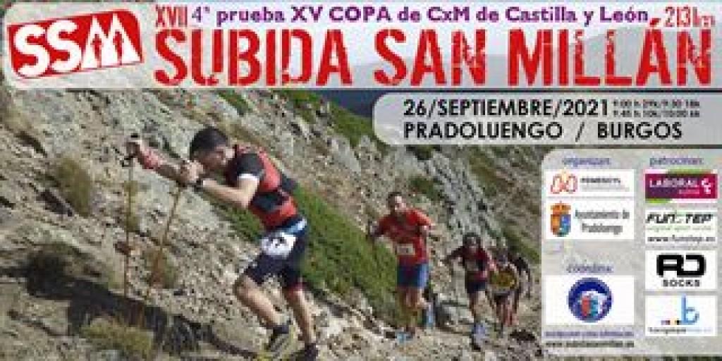 XV Copa de Castilla y León de Carreras en Línea: 4ª Prueba: XVIII Subida al San Millán
