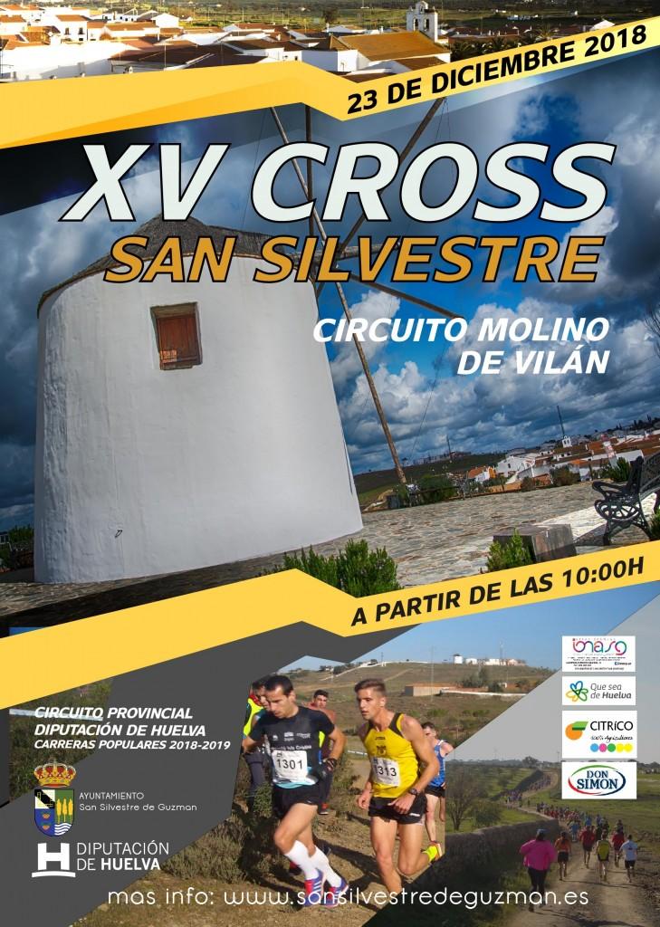 XV CROSS SAN SILVESTRE - Huelva - 2018