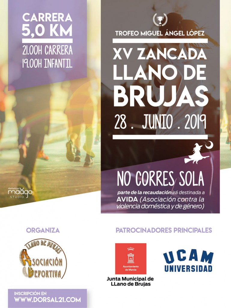 XV Zancada Llano de Brujas - Murcia - 2019