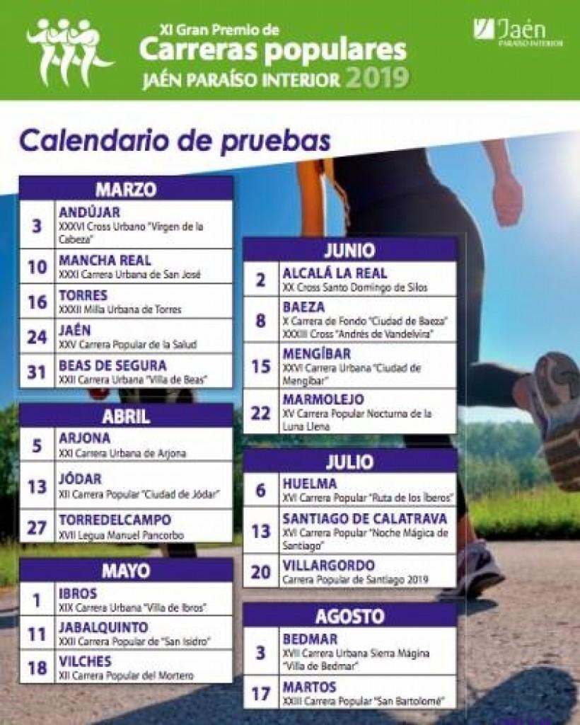 XVI Carrera Popular Noche Mágica de Santiago - Jaén - 2019