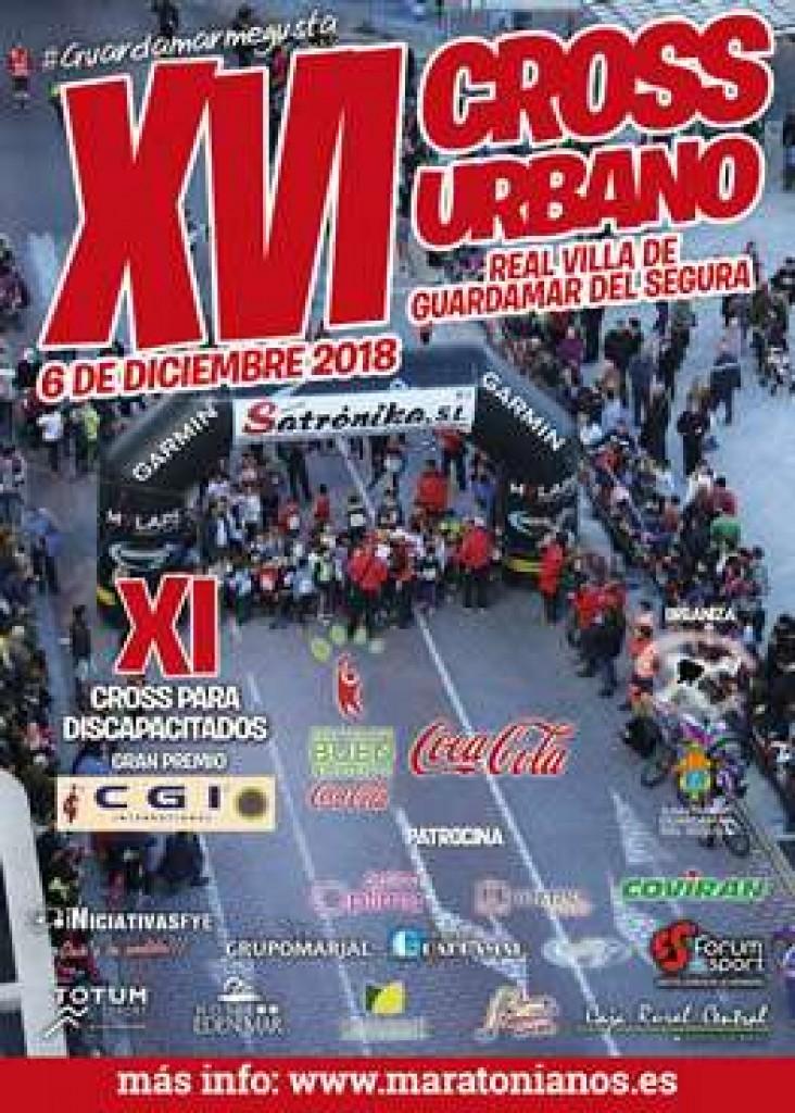 XVI CROSS URBANO REAL VILLA DE GUARDAMAR DEL SEGURA - Alicante - 2018
