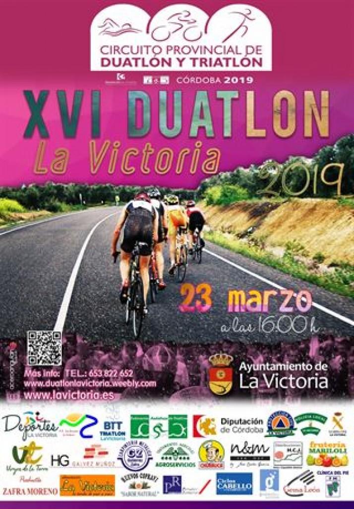 XVI DUATLÓN LA VICTORIA - Córdoba - 2019