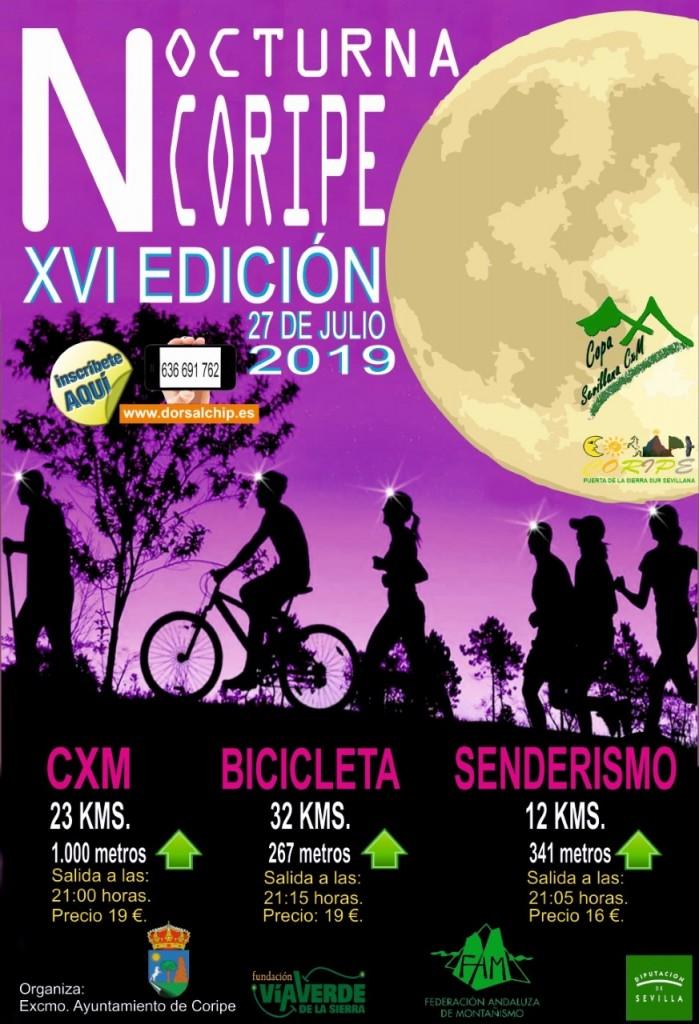 XVI Nocturna Coripe - Sevilla - 2019
