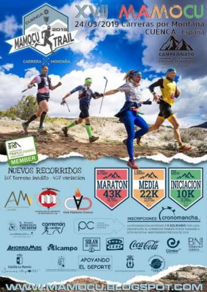 XVII Mamocu Trail - Cuenca - 2019
